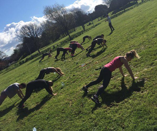 Andrew Tucker Commando Health & Fitness Circuit Training